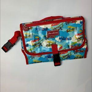 Lou Harvey Alec The Aviator Nappy Baby Changer Bag